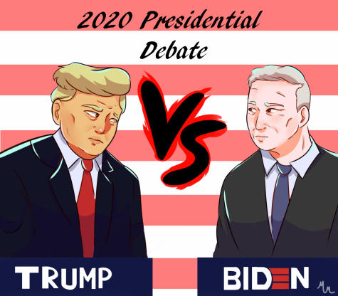 Cartoon of Biden and Trump