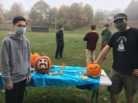 DECA Pumpkin Carving for Halloween 2020