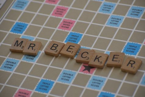 Mr. Becker is a world-record scrabble player!