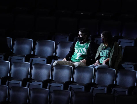 Mar 31, 2021 at the TD Garden in Boston for a game against the Dallas Mavericks